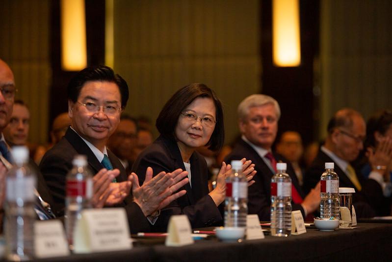 總統出席「玉山論壇開幕典禮」