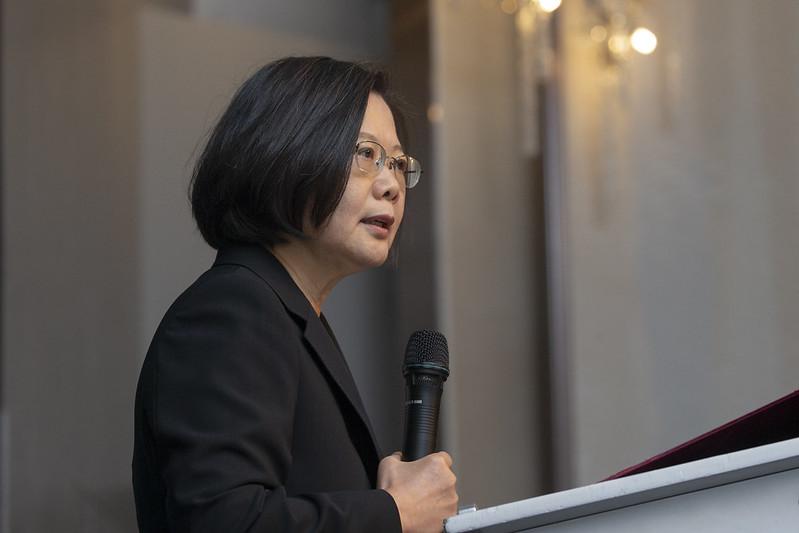 總統出席臺北市美國商會「2019年度會員大會」,並致詞