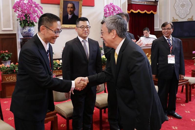 副總統接見「第20屆國家建築金獎暨108年度台灣誠信品牌」獲獎單位代表
