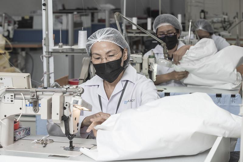 總統訪視「聚陽實業股份有限公司」