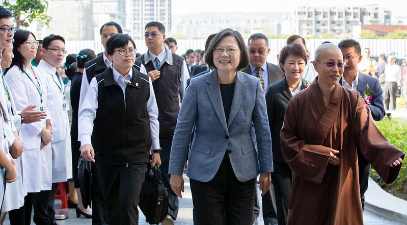總統出席「佛教正德醫院落成典禮」