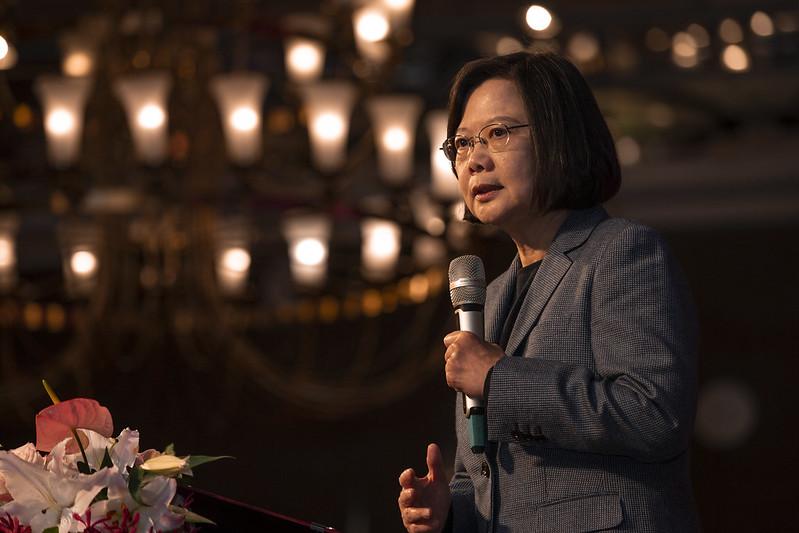 總統出席「2019台灣社會福利總盟聯合感恩餐會」,並致詞