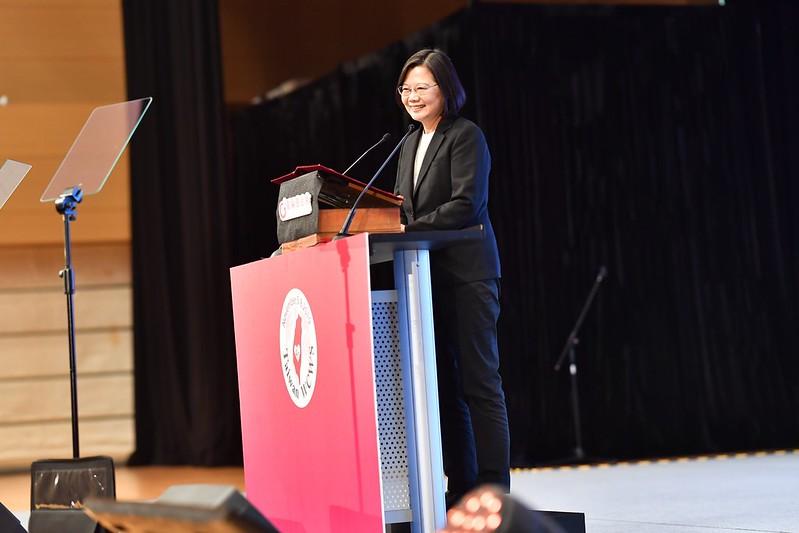 總統出席「第四屆世界婦女庇護安置大會」