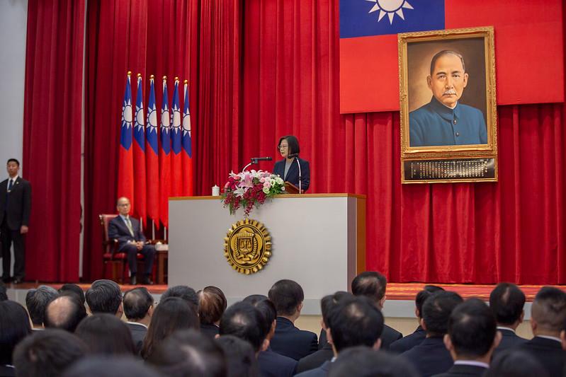 總統出席「法務部調查局第56期調查班結業典禮」,並致詞