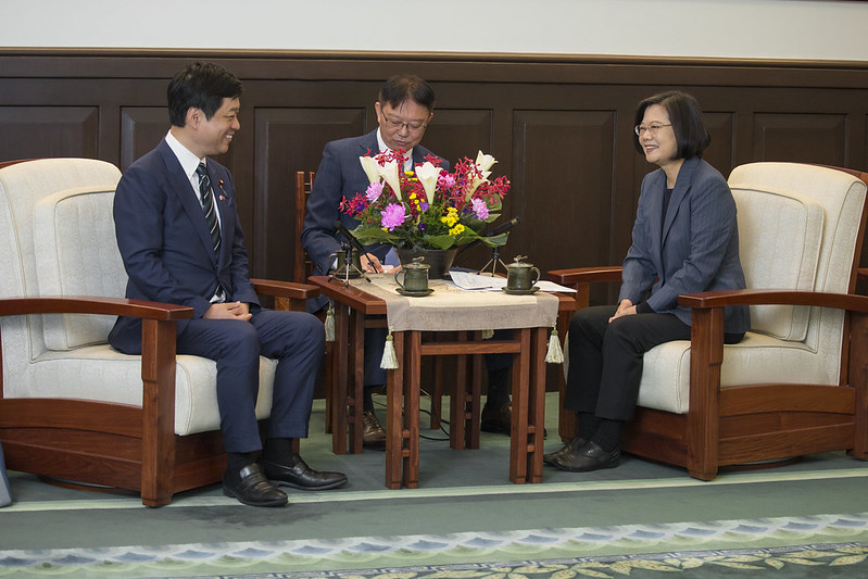 總統接見「日本自由民主黨大西宏幸眾議員團」