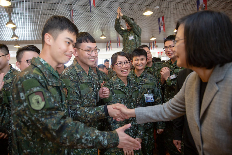 總統春節視導暨勗勉陸軍機步269旅,感謝國軍堅守崗位,戮力戰訓本務