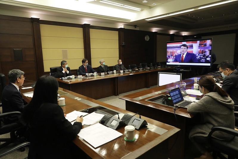 陳副總統接受「英國廣播公司」(BBC)專訪