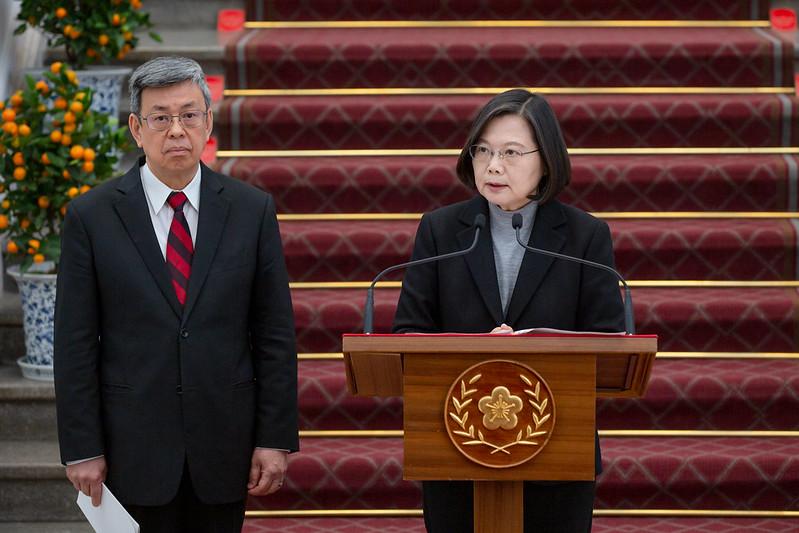 109年1月30日總統敞廳談話