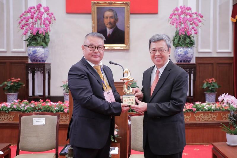 副總統接見「第27屆幼鐸獎得獎人及相關會務人員」