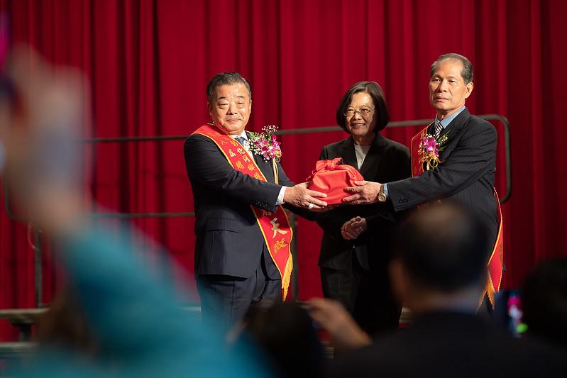 總統出席「世界彰化同鄉總會第九屆總會長暨理監事」就職典禮