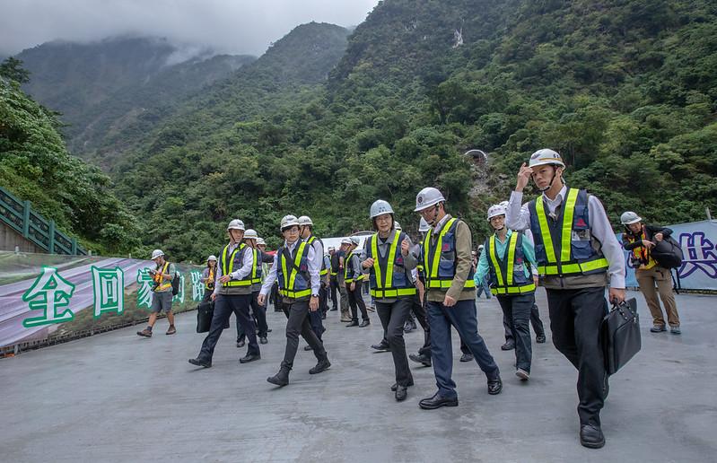 總統視察「蘇花公路改善工程進度」