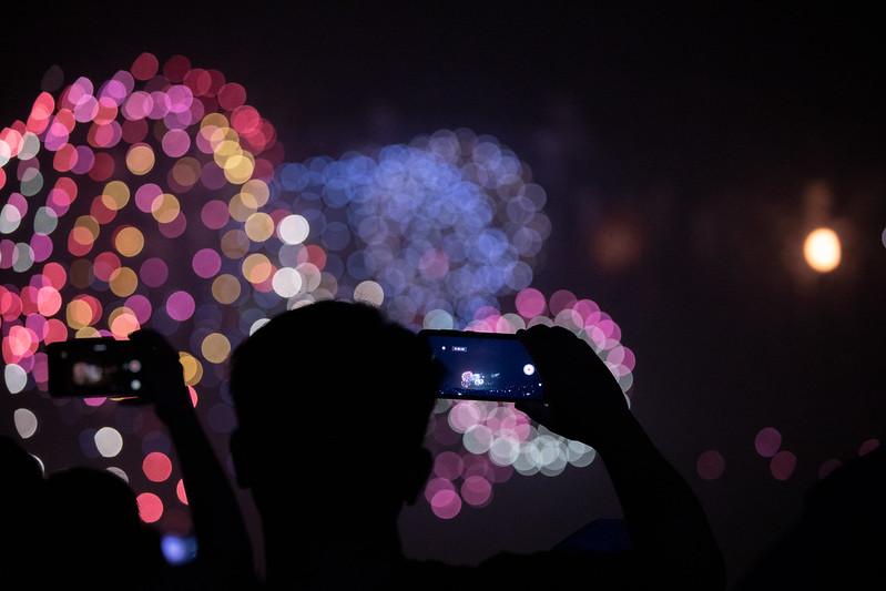 總統出席「108年國慶焰火晚會在屏東」