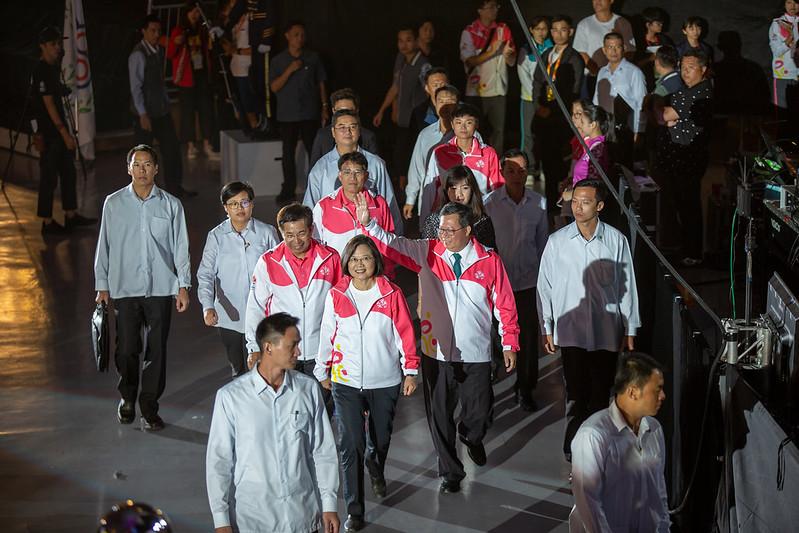 總統出席「108年全國運動會開幕典禮」