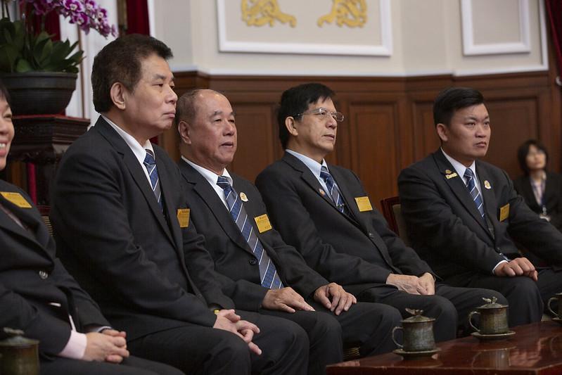總統接見「國際同濟會台灣總會第46屆理監事首席」