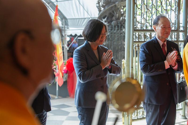 總統出席「龍山寺建寺280周年紀念」