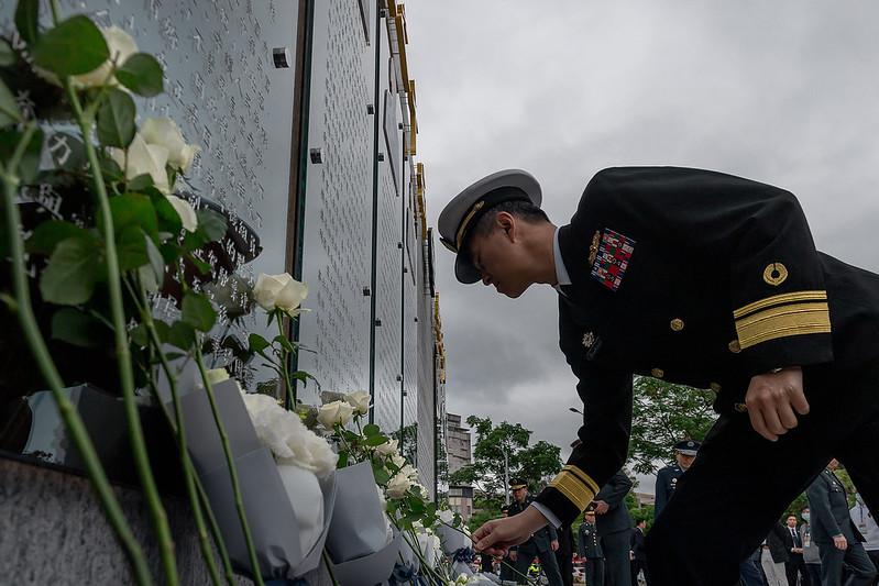 總統出席「0102殉職將士紀念專區啟用典禮」