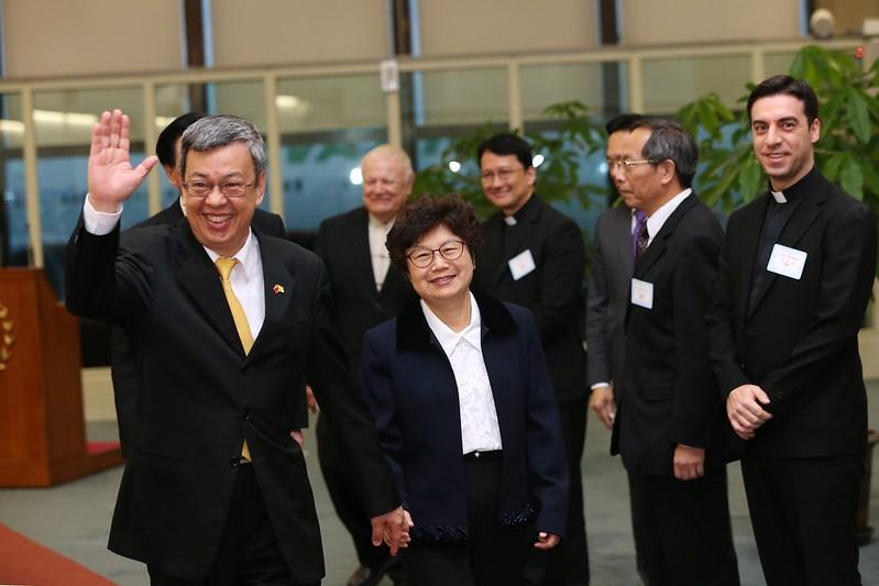 副總統結束「聖德專案」返抵國門
