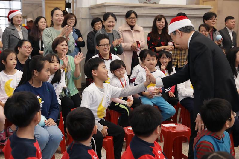 副總統今(25)日出席「2019耶誕感恩活動」
