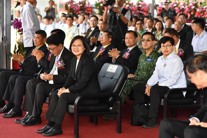 總統出席「高雄榮總屏東大武分院動土典禮」