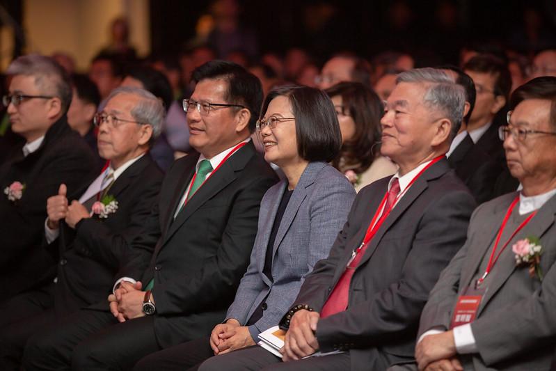 總統出席「全國交通科技產業會議開幕式」