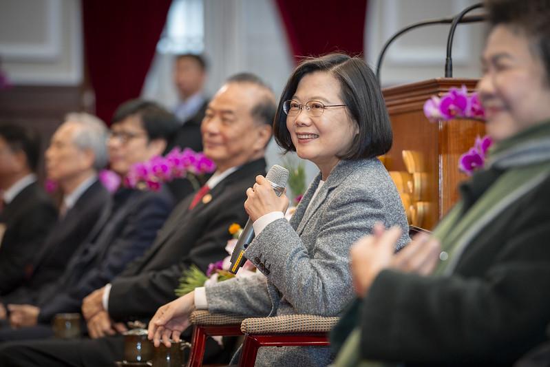 總統接見「108年度全國模範公務人員代表」,並致詞