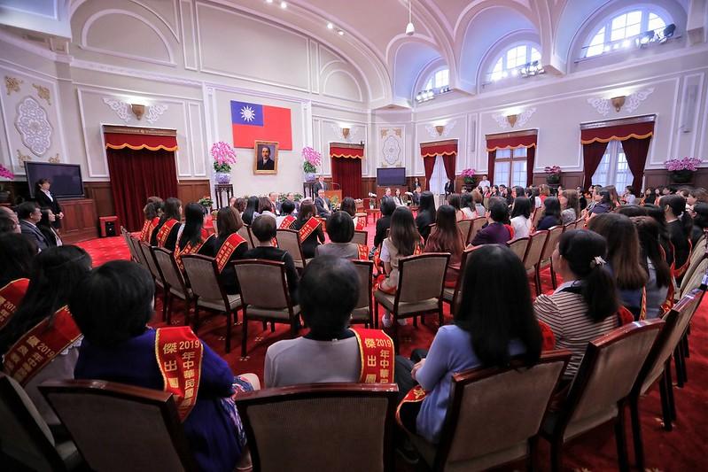 副總統接見「第27屆幼鐸獎得獎人及相關會務人員」,肯定幼鐸獎得主為國家奠定人才培育基礎