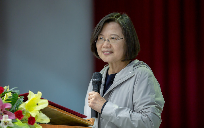 總統出席「屏東高工校友返校日活動」,並致詞