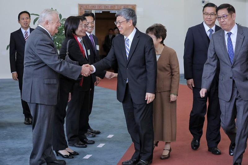 副總統發表「帛誼專案」行前談話