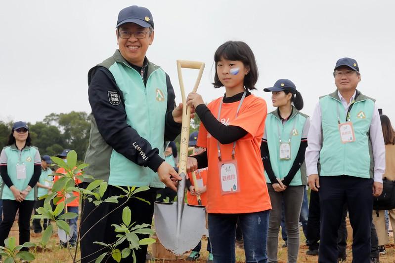 副總統出席「『森活大樹聚』植樹節活動」