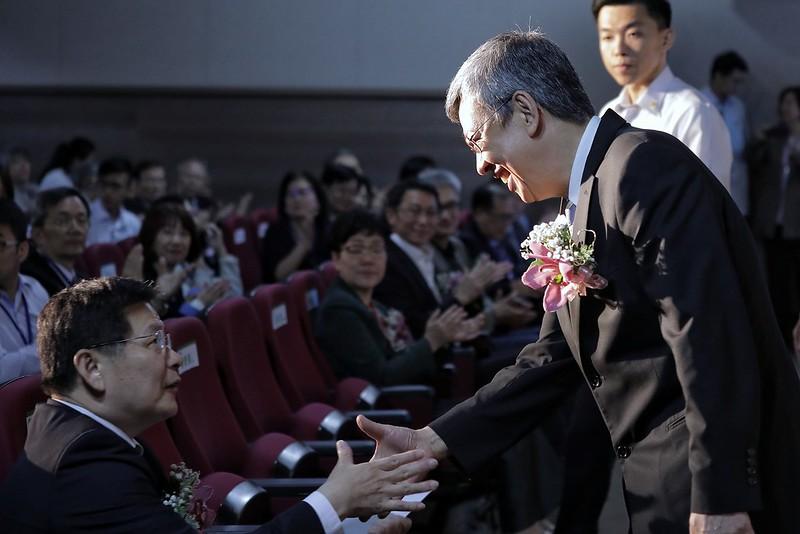 陳建仁副總統今(30)日上午出席「臺灣精準醫療啟航暨Biobank整合平台聯盟成立發表會」