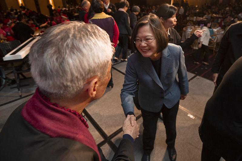 總統出席「2019台灣社會福利總盟聯合感恩餐會」