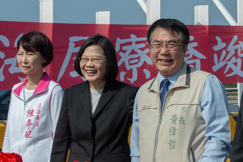 總統出席「『海尾寮橋』改建工程啟用典禮」