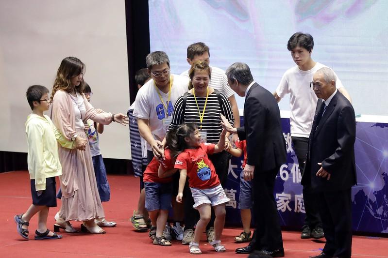 副總統出席「試管寶寶世界博覽會」,向試管寶寶與家人致上最誠摯的祝福