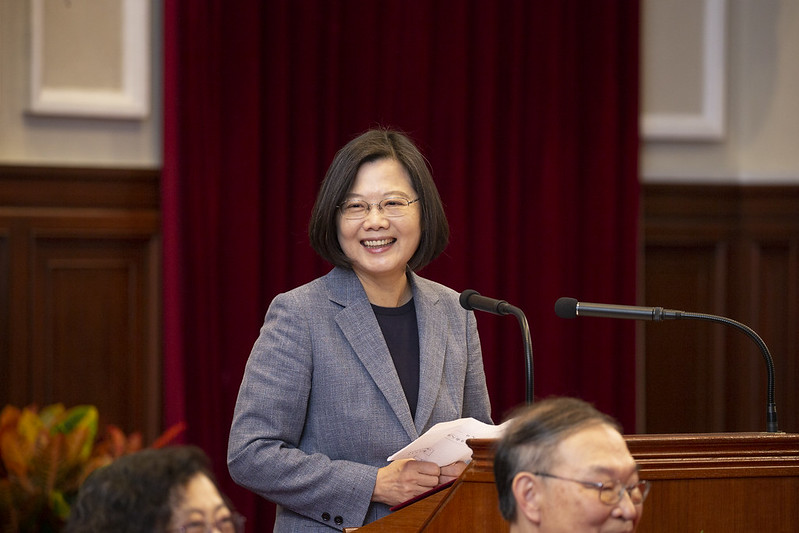 總統接見「北美洲臺灣人醫師協會回國訪問團」