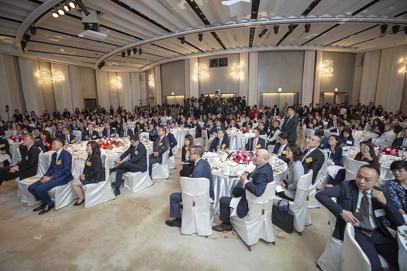 總統出席臺北市美國商會「2019年度會員大會」