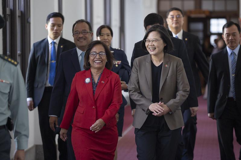 總統歡迎海妮總統再次率團來訪