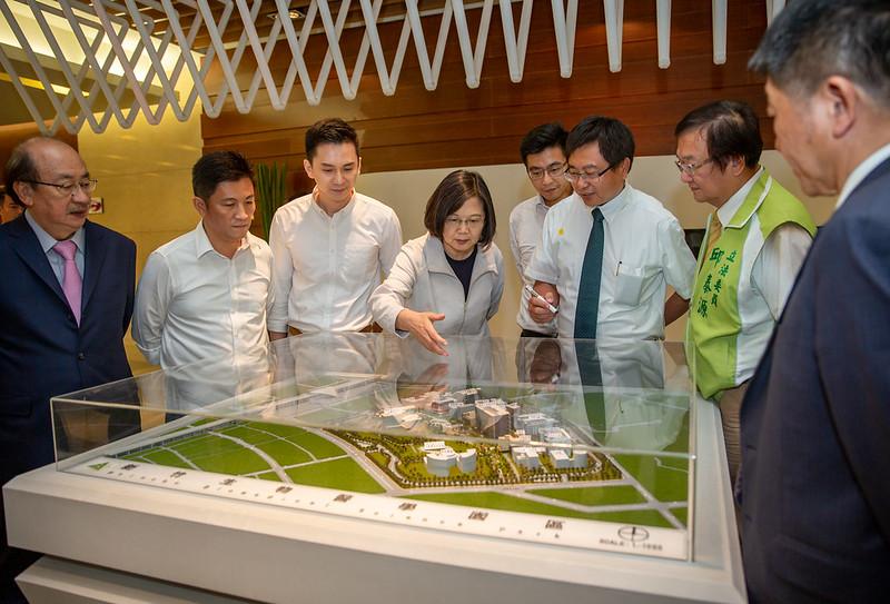 總統參訪「新竹生醫園區」
