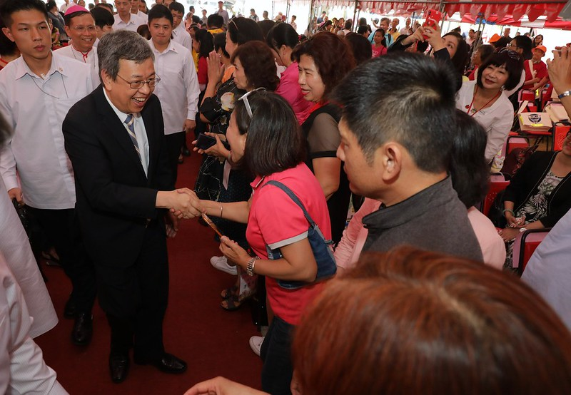陳建仁副總統今(26)日上午前往嘉義出席「安納家園落成啟用典禮」