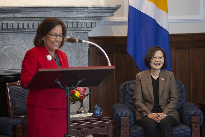 海妮總統指出,今天臺馬兩國即將簽署《經濟合作協定》,這是非常卓越的成就,進一步地提升兩國間投資、貿易往來,共同探索更多經濟發展機會。
