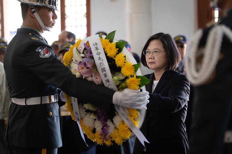 總統出席「古寧頭戰役70周年紀念活動」