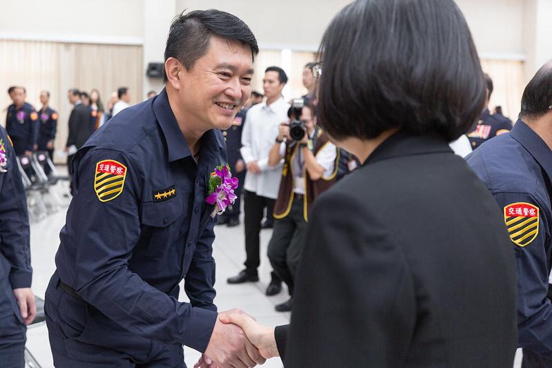 總統出席「108年度績優交通警察及交通義勇警察表揚大會」
