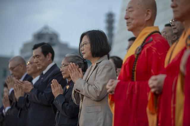 總統出席「2019慈濟浴佛節大會」