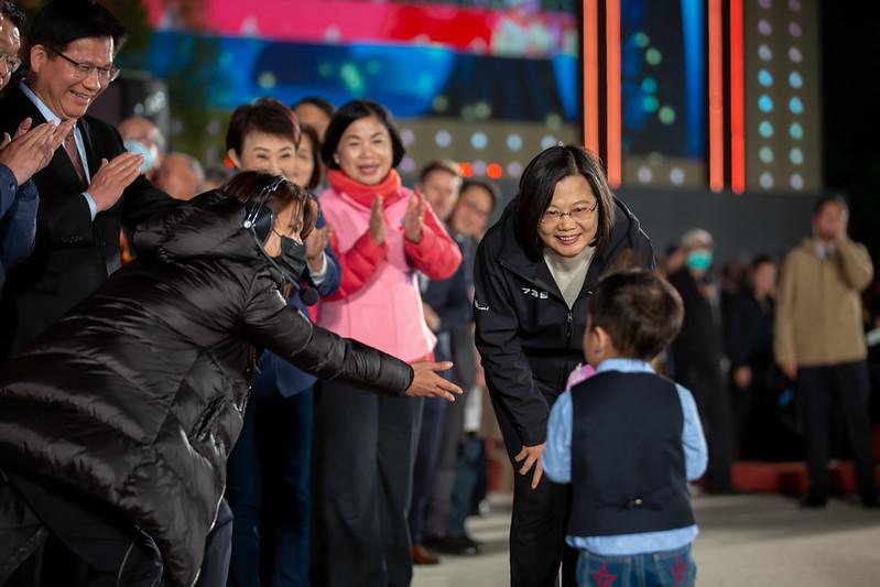 總統出席「2020臺灣燈會在臺中」開燈典禮